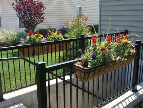 Deck Railing Brackets For Planters   Home Design Ideas