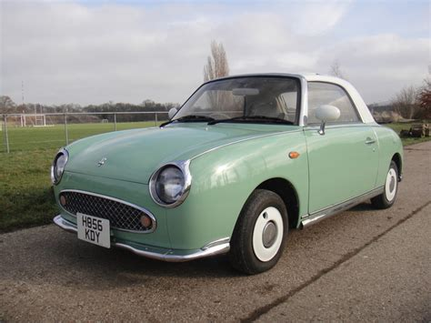 nissan green nissan figaro emerald green www figarospares co uk