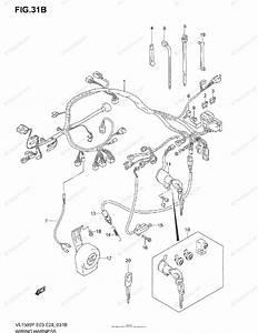 Suzuki Motorcycle 2004 Oem Parts Diagram For Wiring
