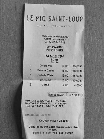 Les Matelles Restaurant by Le Pic Loup Les Matelles Restaurant Avis Num 233 Ro