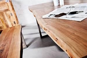 Tisch Mit Kufengestell : massiver baumstamm tisch bergamo 160cm akazie massivholz industrial chic kufengestell mit 3 5cm ~ Sanjose-hotels-ca.com Haus und Dekorationen