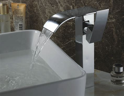 contemporary waterfall tub tap  hand shower