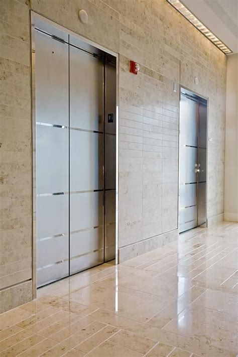 elevator door skins  stainless steel  mirror finish