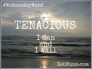 A Tenacious Spirit - Deb Runs