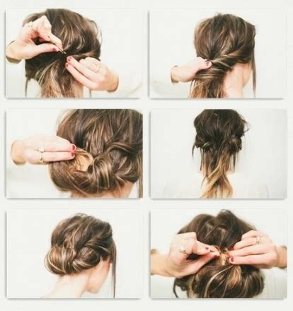 Leichte Hochsteckfrisuren Für Jeden Tag 4 Einfache Frisuren F R