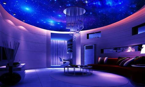 galaxy themed boys bedroom adhesive tile wallpaper