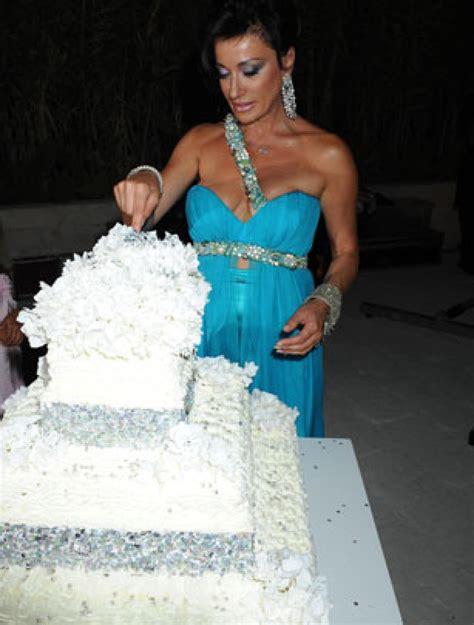 Celebrity Birthday Cakes  Nancy Dell'olio's Birthday Cake