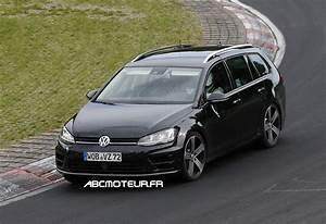 Break Sportif : la future volkswagen golf r break en photos vid o ~ Gottalentnigeria.com Avis de Voitures