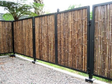 pictures of bamboo fences fence pictures types of fences