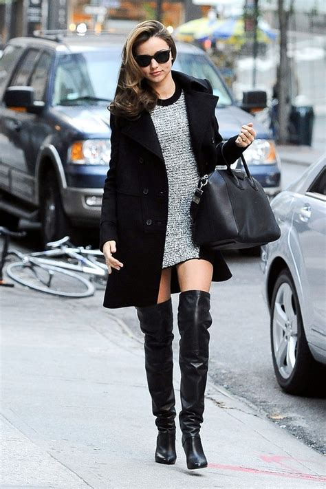 miranda kerr   wear    knee boots