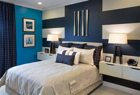 peintures chambres 20 trendy bedrooms with striped accent walls