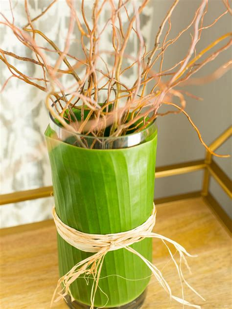 Decorated Vase by How To Decorate A Glass Vase Hgtv