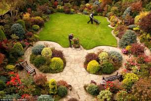 amazing back gardens gardening black country couple show off autumn s full beauty as warm weather continues daily
