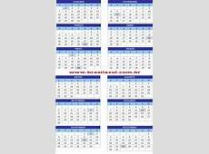 Calendário Julho 2013 Online