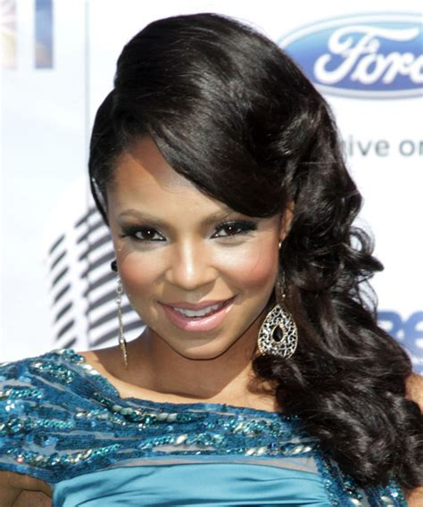 ashanti updo long curly formal wedding updo hairstyle