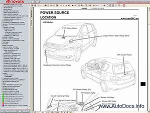 Toyota Avensis Verso    Picnic Service Manual Repair Manual Order  U0026 Download