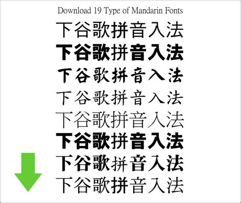 how to type in chinese download chinese mandarin font style