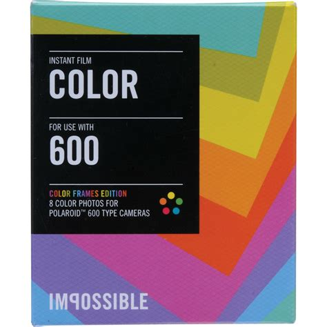 Impossible Instant - impossible instant color with color frames for
