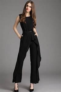 Pantalon De Soiree Chic : combinaison pantalon femme chic en 23 id es de mariage ~ Melissatoandfro.com Idées de Décoration