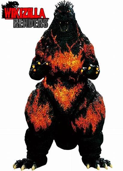 Wikizilla Godzilla Render Burning Deviantart 2001 Favourites