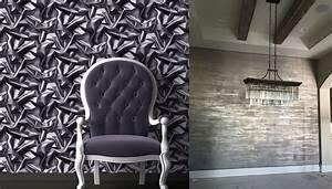 Wall design ideas and tendencies: Wallpaper trends 2018