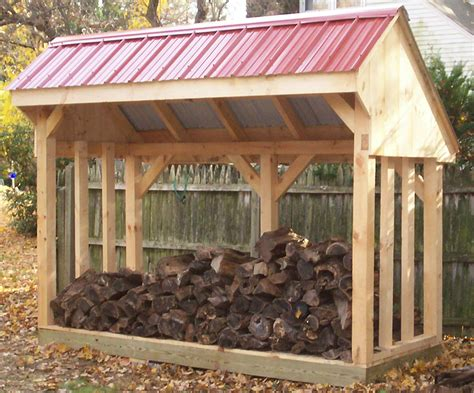 woodwork   build woodshed  plans
