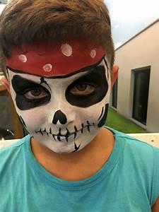 Maquillage Pirate Halloween : maquillage enfant animation maquilleuse artistique enfants pro ~ Nature-et-papiers.com Idées de Décoration
