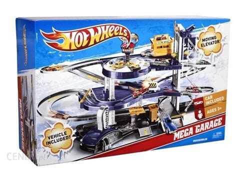 Mattel Hot Wheels Mega Garaż Parking Winda + Autko Ceny