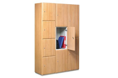 Wooden Lockers   Benchura