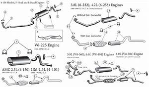 Diagrams For Jeep    Exhaust Parts    Cj 55