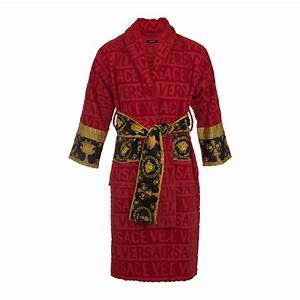 Louis Vuitton Bademantel : buy versace home barocco robe bathrobe red amara ~ A.2002-acura-tl-radio.info Haus und Dekorationen