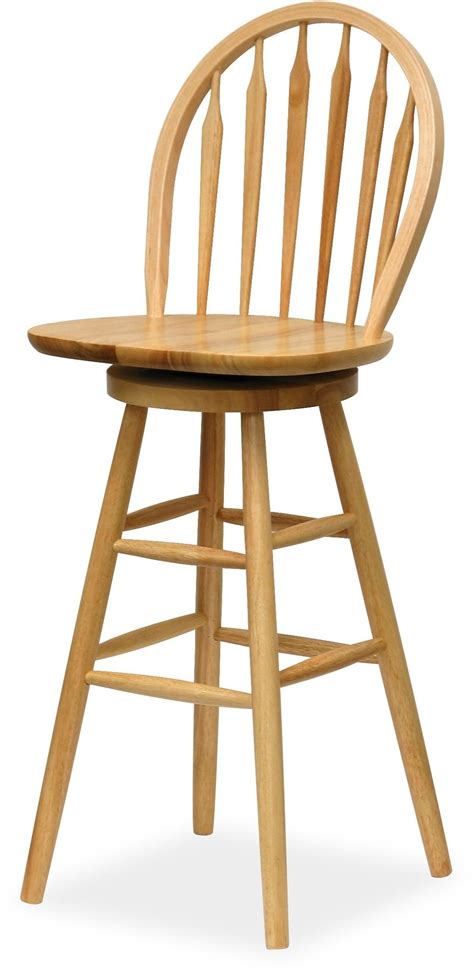 Winsome Wood Bar Stool by Wagner Beech 30 Quot Windsor Swivel Seat Bar Stool 89630 Winsome
