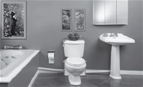macerating toilets upflushing sewage systems  basements