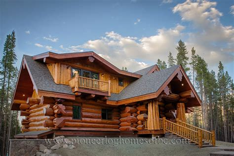 Custom Log Homes Picture Gallery  Bc, Canada