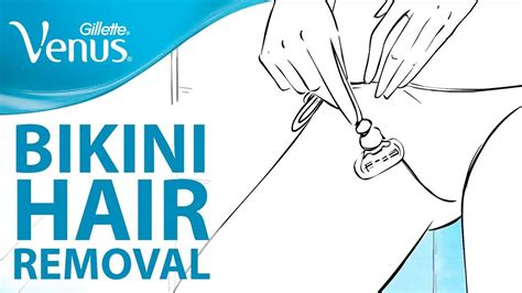 bikini hair removal tips   shave  bikini