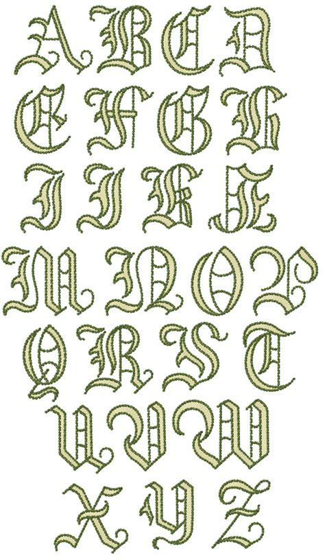 fairy woodland alphabet