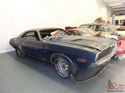 Project For Sale by Dodge Challenger Rt Se 1970 Restoration Project