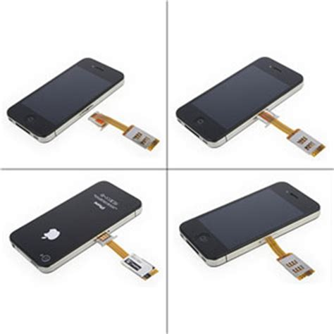 iphone 4 sim card dual sim card adapter with back iphone 4s 4