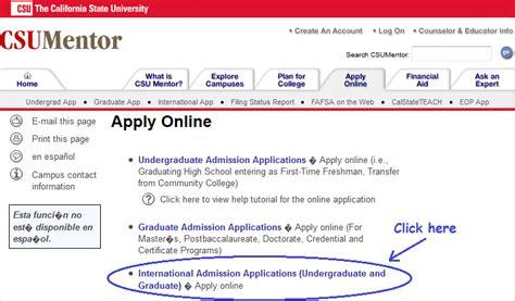 Csu Mentor Application Steps For Undergraduates