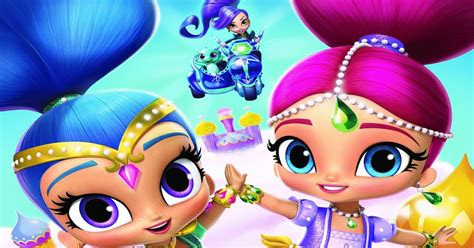 shimmer and shine l nickalive quot shimmer and shine quot launches first product