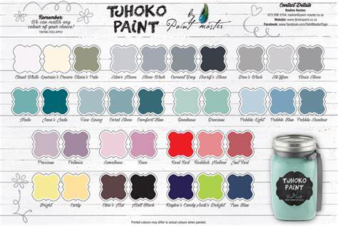 Colour Chart 2 - Tjhoko Paint