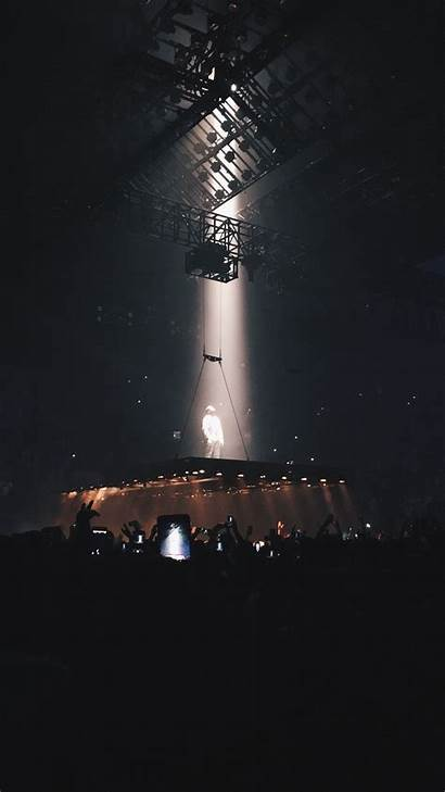 Kanye West Stage Wallpapers Iphone Concert Lighting