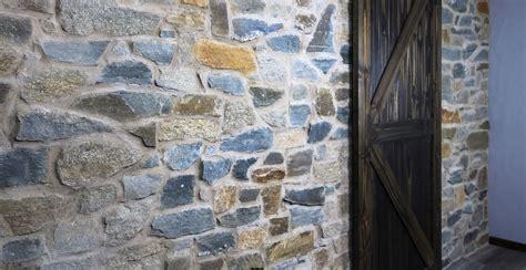 spalted oak siena fieldstone ledgestone interior stone