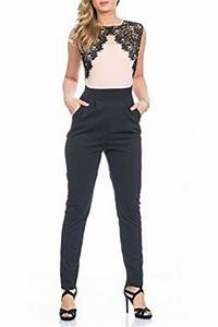 Hosenanzug Als Hochzeitsgast : light blue elegant lace long jumpsuit overall pinterest outfit ideen outfit und kleider ~ Frokenaadalensverden.com Haus und Dekorationen
