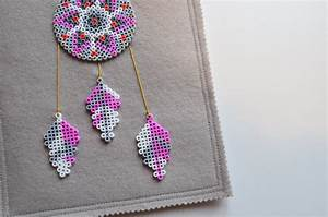 Faire Un Attrape Rêve Facile : modele perle a repasser attrape reve ~ Melissatoandfro.com Idées de Décoration