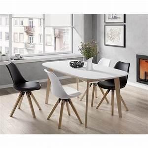 Table Ronde Extensible Bois : table sejour pas cher table ronde extensible bois ~ Teatrodelosmanantiales.com Idées de Décoration