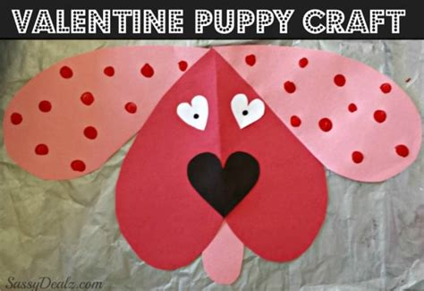 Puppy Valentine Dog Craft