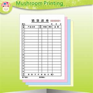 online buy wholesale invoice books from china invoice With custom carbon paper invoices