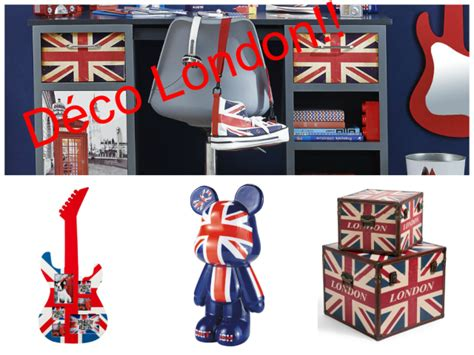 Inspiration Londres  Chambre D'ado • Aventure Déco