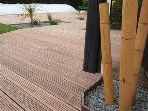 prix terrasse bois posee entourage piscine design st nazaire www artisansdupaysage fr